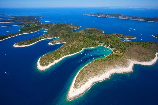 Paklinski islands archipelago 2
