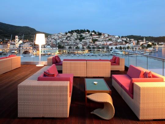 VIP terrace