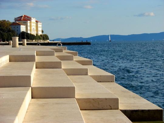 Zadar - morske orgle